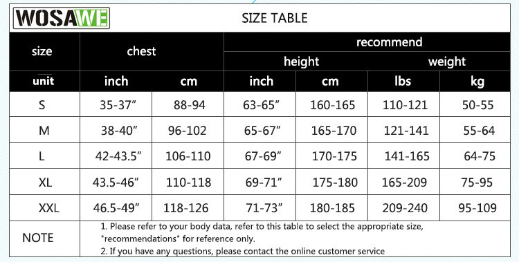 Image 5 - WOSAWE Autumn Cycling Jerseys Men Bicycle Sportswear Breathable Cycle Downhill MTB Reflective Long Sleeve Clothing Bike Shirts-in Cycling Jerseys from Sports & Entertainment