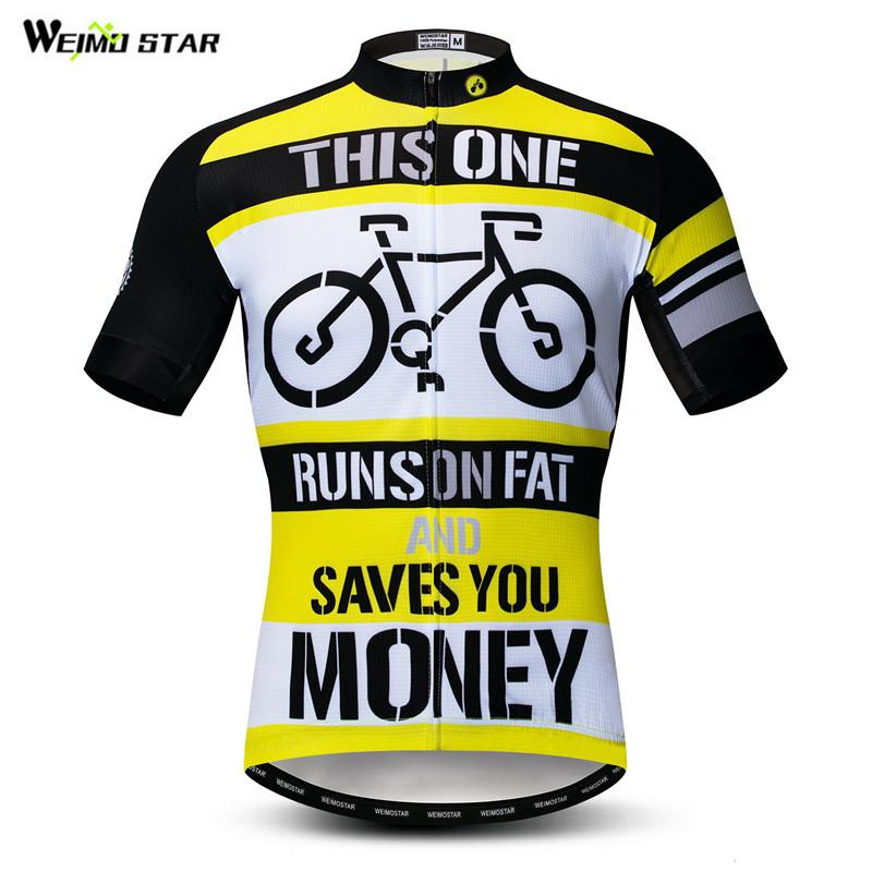 Weimostar ciclismo Jersey 2019 pro equipo bicicleta ropa de verano de manga corta de secado rápido MTB bicicleta Jersey transpirable ropa de ciclismo