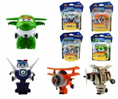 Figuras de acción de superalas, 8 estilos de robots de transformación, juguetes de regalo para niños