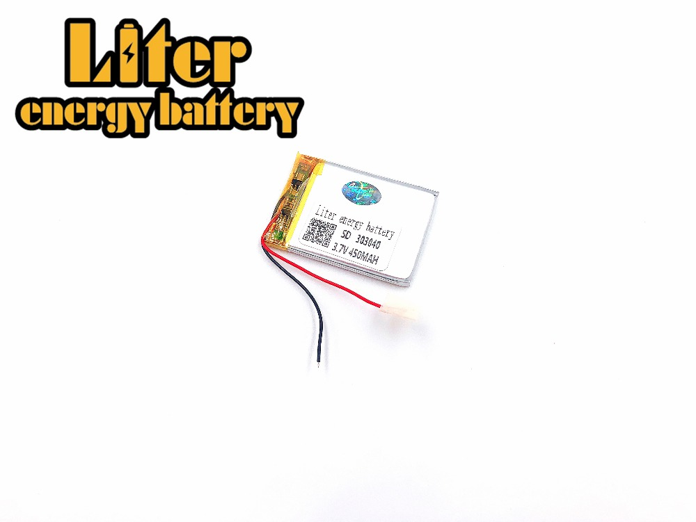 Mp3, Mp4 Gps Thin Small Toy Battery 303040 283040 282840 Polymer Rechargeable Battery 450mah Lithium-ion Batteries 3 7v lithium polymer batteries 803040p 950mah mp4 3 navigation instruments rechargeable