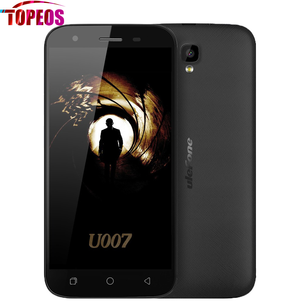 bilder für Android 6.0 Ulefone U007 Handy MTK6580A Quad Core 1 GB RAM 8 GB ROM 5 zoll HD 1280x720 8MP 2200 mAh 3G WCDMA Dual-Sim-Handy