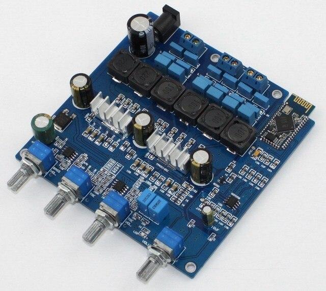 Frss Доставка 24VDC 2.1 канала класса D bluetooth 4.0 TPA3116 Вход только в режиме Bluetooth входной усилитель доска 2*50 Вт