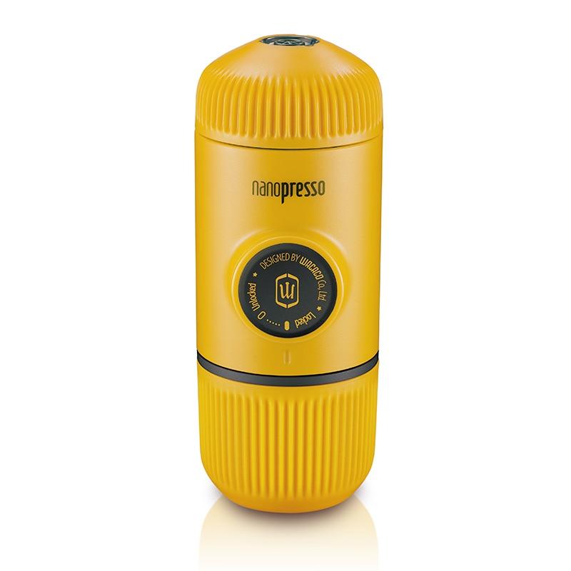 Wacaco Nanopresso Portable Espresso Coffee Maker/Machine, Upgrade Version of Minipresso, 18 Bar Pressure, Yellow Patrol Edition.Wacaco Nanopresso Portable Espresso Coffee Maker/Machine, Upgrade Version of Minipresso, 18 Bar Pressure, Yellow Patrol Edition.