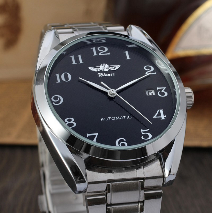 цена на Men Watch Top Brand Luxury Erkek Saat Mechanical Watch Male Business Clock Relogio Montre Homme Stainless Steel Automatic Watch