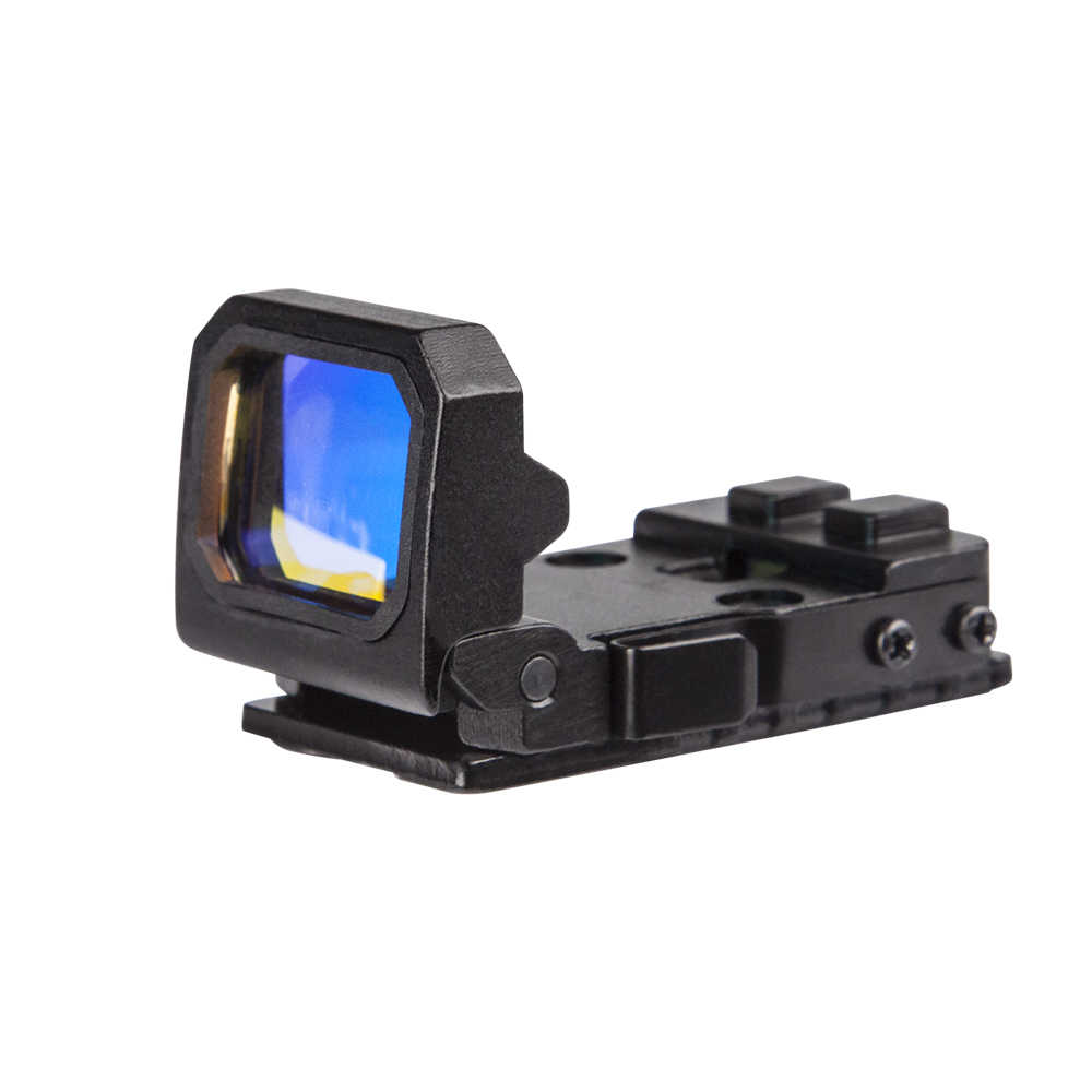 hight resolution of  m s otpics aim holographic reflex flip up hunting red dot pistol glock sight for airsoft gun