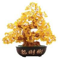 NATURAL color quartz gemstone TREE REIKI Healing