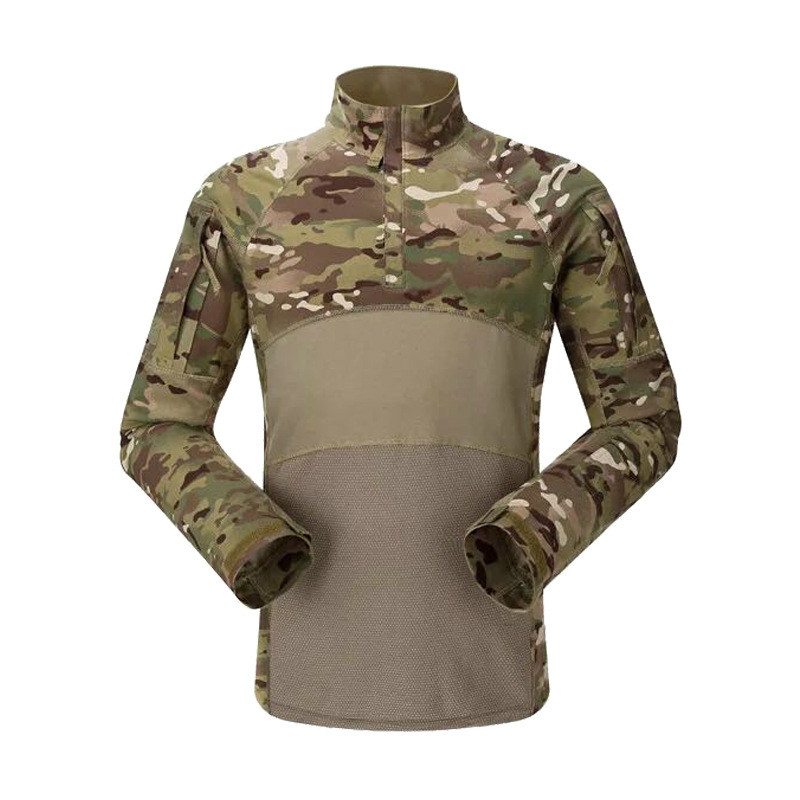 Orologi E Gioielli Sensible Mens Outdoor Sports Tactical Military Hiking Camouflage Shirt Quick Dry Breathable Tops Desert Camping Shirts Combat Clothes