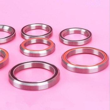 Cable de auriculares para reparación de riesgo General rodamientos de bicicleta rodamiento 28,6/44/30mm rodamiento de acero Casco Para Bicicleta MTB rodamiento 41 41,8 47 49 51 52 mm