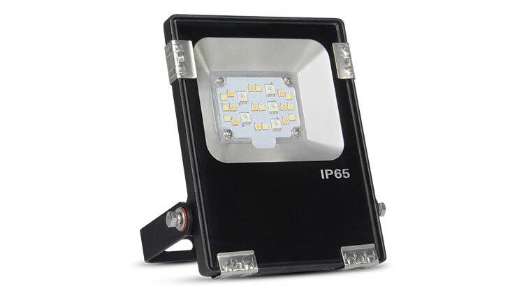 Milight FUTT05 DC24V/AC100 ~ 240 V 10 W RGB + CCT LED lumière d'inondation étanche IP65 éclairage extérieur éclairage de jardin
