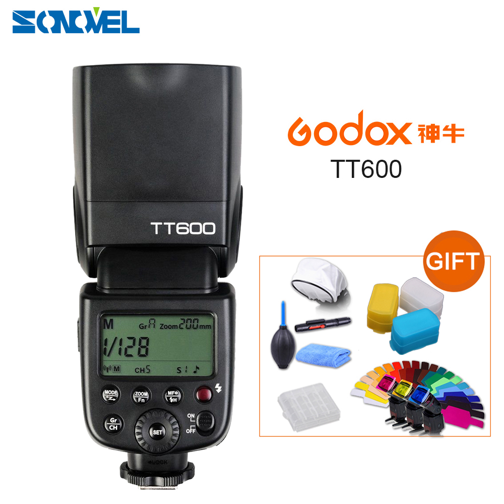 Godox TT600 2 4G Wireless GN60 Master Slave Camera Flash Speedlite for Canon Nikon Pentax Olympus