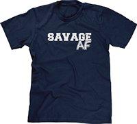 Chicago Mens T-Shirt Savage AF hip hop Hàng Đầu Tees Tùy Chỉnh Bất Kỳ Biểu Tượng Kích Thước