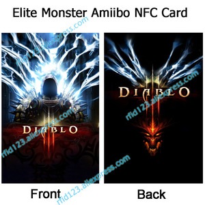 Image 2 - NTAG215 Printed NFC Card Written by Tagmo For Diablo 3   Loot Goblin