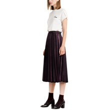 2017 New Arrived Women Spring And Summer Solid Color Skirt Casual Swing Mid-Calf Pleated Skirt Have 4 Color S7