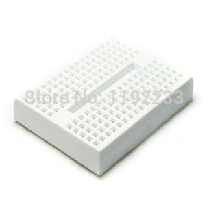 1Pce Mini Solderless White Prototype Breadboard 170 Tie-points For ATMEGA PIC Arduino UNO