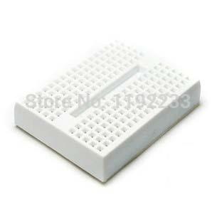 1Pce Mini Solderless White Prototype Breadboard 170 Tie-points For ATMEGA PIC Arduino UNO