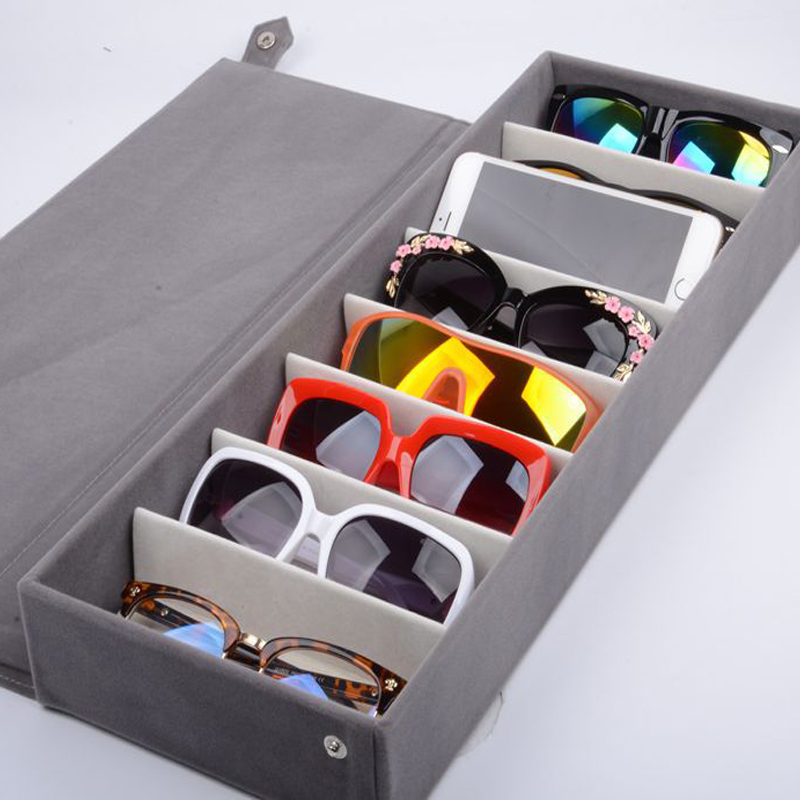 Ordinaire Aliexpress.com : Buy 8 Slots Durable Oxford Cloth Eyeglasses Sunglasses Glasses  Storage Box Bag Eyewear Display Stand Case Holder Organizer Cover From ...