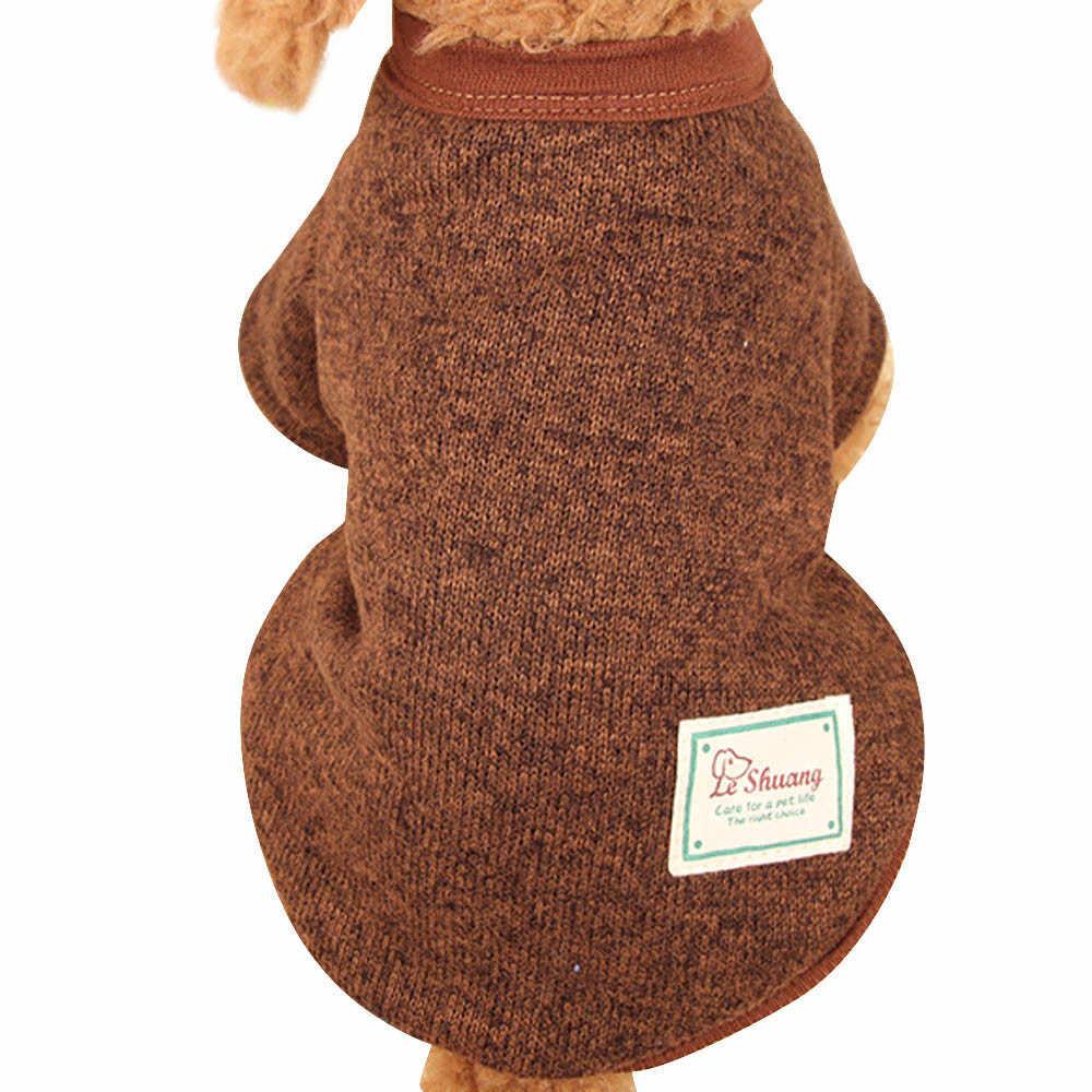 2018 S/M/L/XL/XXL осенне-зимний свитер со щенком для собак, флисовый свитер, теплая шерстяная одежда