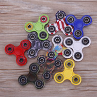 Wholesale Lot 10x Camouflage Fidget Hand Tri Spinner Desk Toy Finger Focus Free Shipping