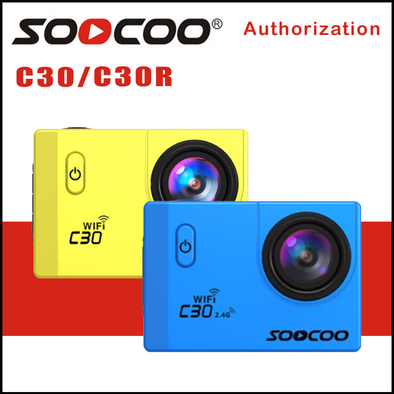 Original SOOCOO C30 / C30R Action Camera 20MP 4K Wifi Ultra HD 1080P/60FPS Go Waterproof Mini Cam Bike Outdoor Dv Sport Camera 2017 arrival original eken action camera h9 h9r 4k sport camera with remote hd wifi 1080p 30fps go waterproof pro actoin cam