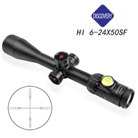 Discovery HI6 24X50SF light Optic Sight Outdoor Hunting Traveling Rifle Monocular telescope Coordinate gun accessories
