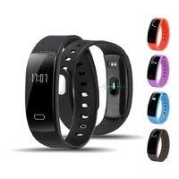 Relógios inteligentes Bluetooth Inteligente Pulseira de Pulso banda de Freqüência Cardíaca Lembrete Mensagem de Monitoramento Do Sono Para IOS Android Phone