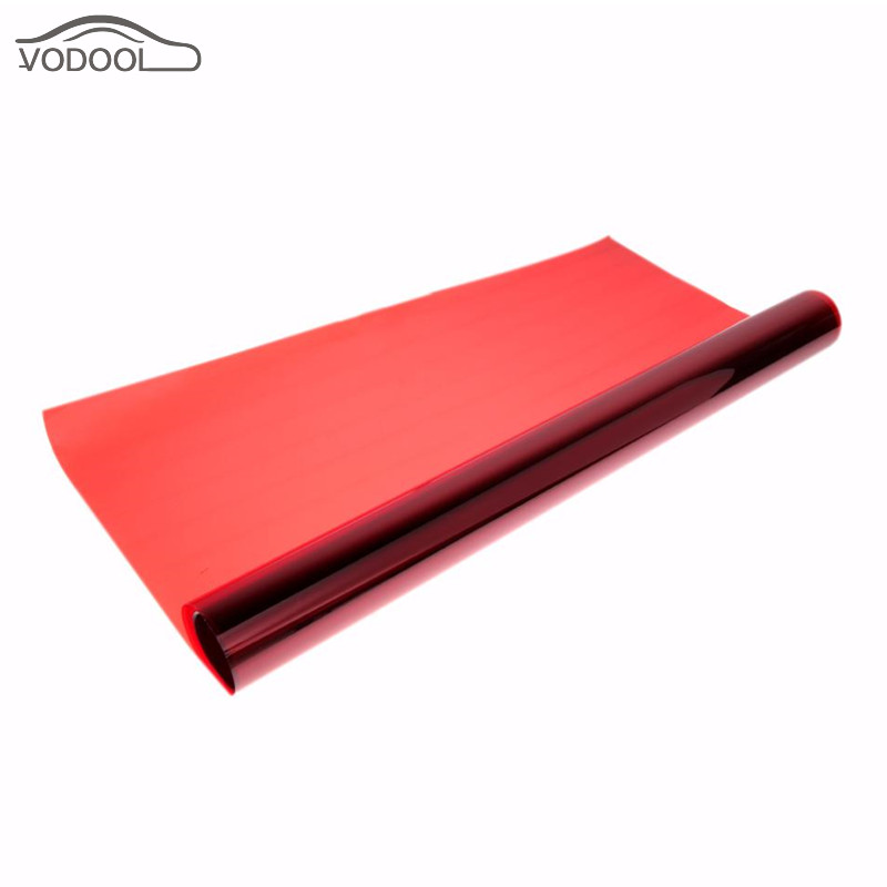 0 5 3m waterproof roll car red glass window protective film tint 99 uv rejection 60 visible. Black Bedroom Furniture Sets. Home Design Ideas