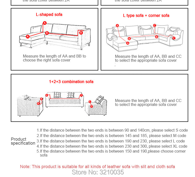 Detail Feedback Questions about 2018 Waterproof Sofa Cover for