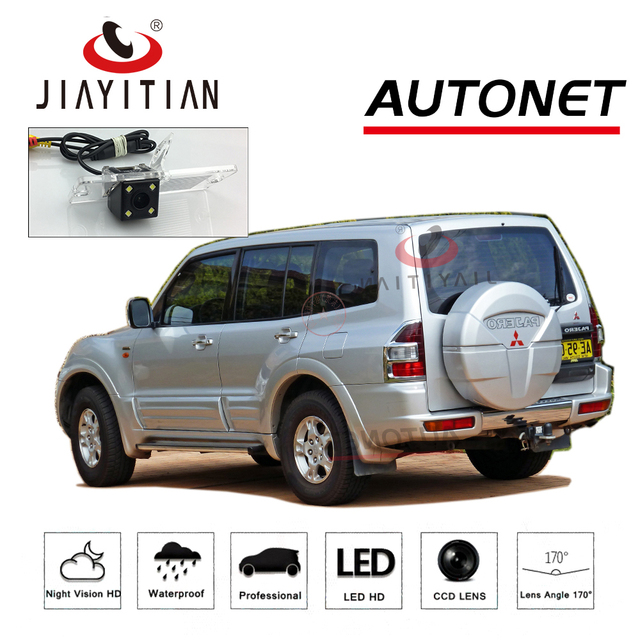 JiaYiTian Rear Camera For Mitsubishi Pajero Super Exceed Montero Shogun Field Master National CCD License