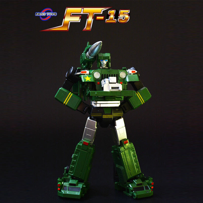 (IN STOCK) Toy Fans Toys FT-15 Willis Second Edition