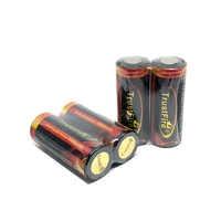 TrustFire Colorful 3.7 V 5000 mAh 26650 Ricaricabile Protetto Batteria Batterie di Litio con PCB Per La Torcia Elettrica Della Torcia
