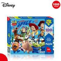 Disney Spielzeug Geschichte 100 Stück Puzzle Marvel Spiderman Thomas Cartoon Puzzle Spaß Spielzeug Puzzle mit Zeichnungen