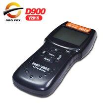 V2015.7.18 D900 canecast OBD2 لايف رمز البيانات قارئ الماسح الضوئي السيارات رمز القارئ D900 عالية الجودة DHL شحن مجاني
