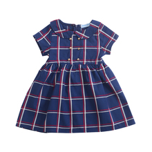 Baby girl dress brand fashion 2019 summer new baby dress pla