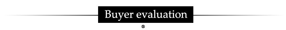 Buyer evaluation