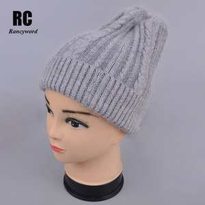 Image 3 - [Rancyword] good quality hats womens beanies hat Spring Autumn knitted with wool caps gorros New arrival popular RC1223 1
