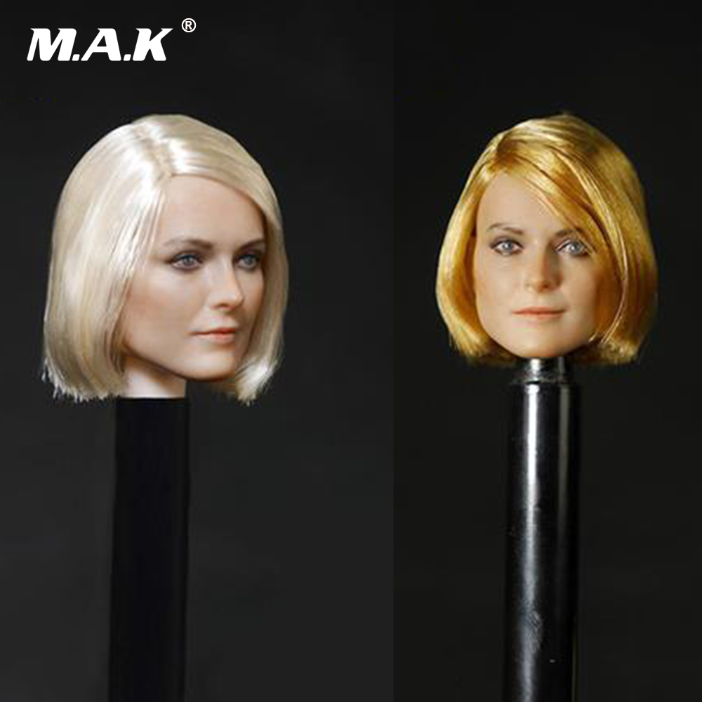 D-OO1 1/6 Scale Female Head Sculpt Beautiful Head Carving Model For 12 Collectible Action Figure Toys Accessories 1 6 scale figure accessories doll female head for 12 action figure doll head shape fit phicne