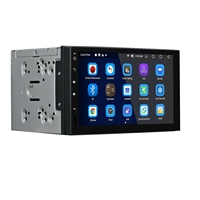 Android 8,0 7 дюйм Радио стерео проигрыватель БД 4 г + 32G gps навигации Bluetooth 4,0 Универсальный плеер Rt1009