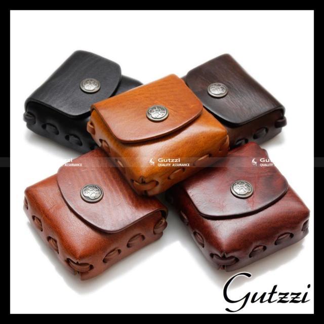 e2f0e426f4cb Women Men Genuine Leather Coin Purse Unisex Square Brand Ladies Designer  Case Notes Change Pouch Wallets Holder Buckle Closure