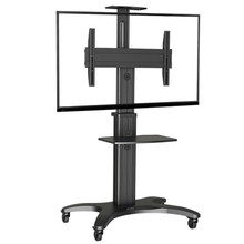 Super Quality Aluminum NB AVF1500-60-1P 32″-60″ Mobile TV Cart Flat Panel LED LCD Plasma TV Trolley Stand With Camera Tray