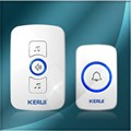 Kerui Multifunctional Wireless Doorbell with 32 Songs Optional, Support Multiple Doorbell Transmitter Welcome Chime
