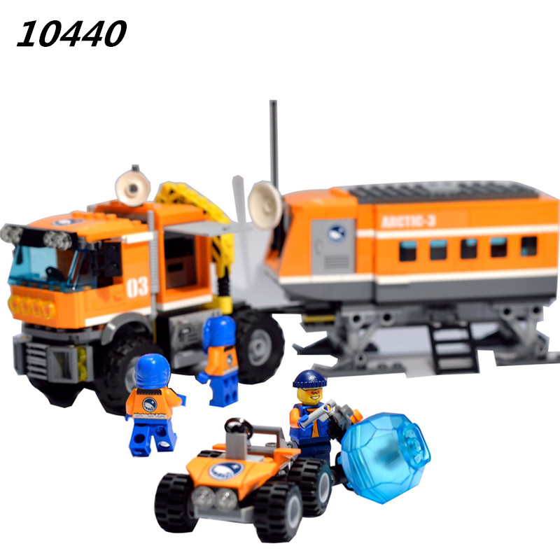 AIBOULLY 2017 City Arctic Outpost 394pcs Building Blocks Classic For Girl Boy Kids Model Toys Marvel Compatible  60035 lepin city town city square building blocks sets bricks kids model kids toys for children marvel compatible legoe