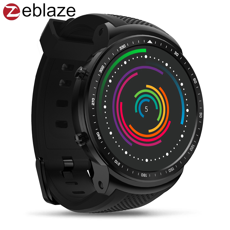 Zeblaze Thor PRO 3G Android Smart Watch Mobile Phone Multi Dial Heart Rate WiFi Bracelet Wristband Wristwatch Men Women Sports zeblaze zeband plus smart bracelet blue