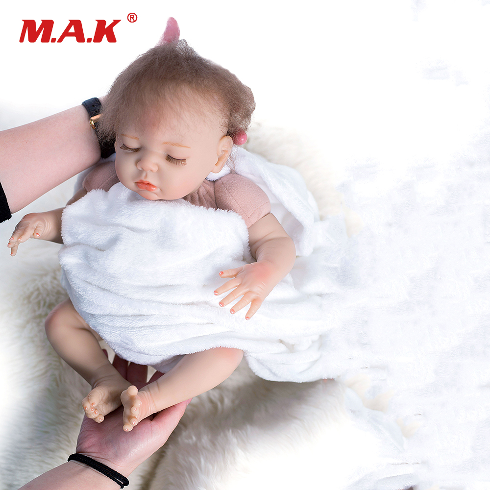 48cm Baby Newborn Doll Lifelike Reborn Baby Doll Wholesale Soft Silicone Real Touch Reborn Dolls Fashion Doll Christmas Gift