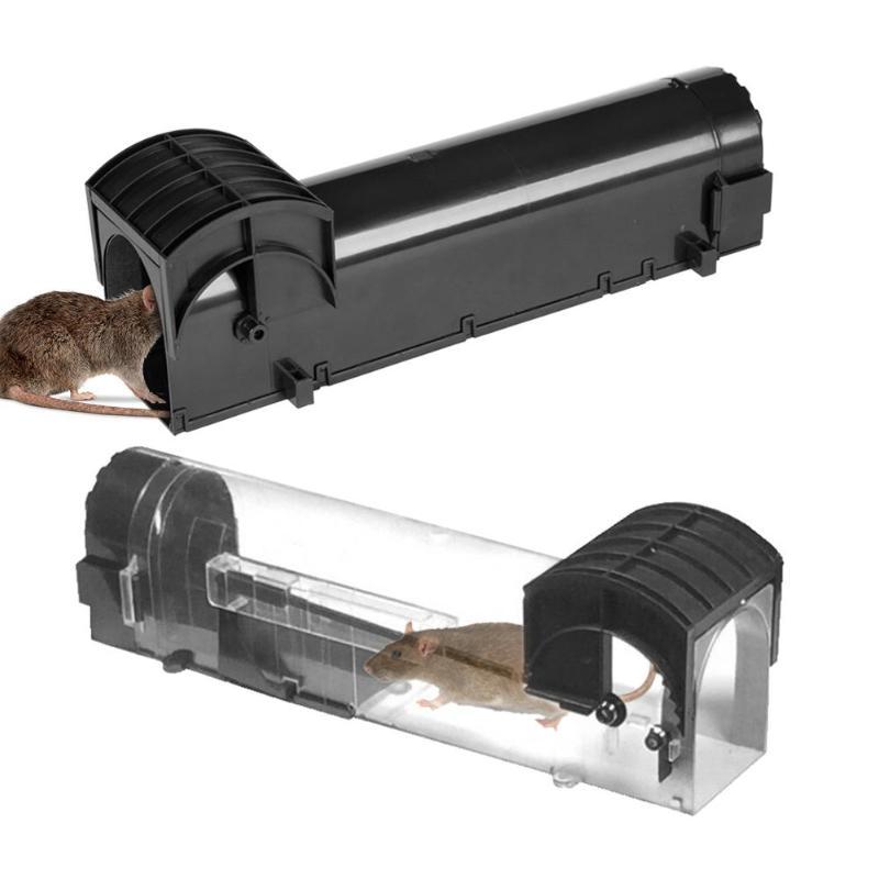 Pedal Type Plastic Mousetrap Mouse Mice Rat Catch Trapper Bait Capture Hamster Cage 2colors Plastic mouse trap 2018 new style hearth