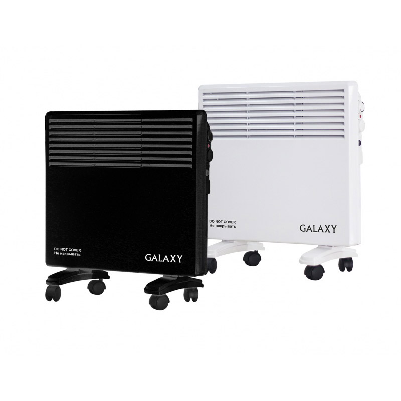 Heater convection Galaxy GL 8226 black цена и фото