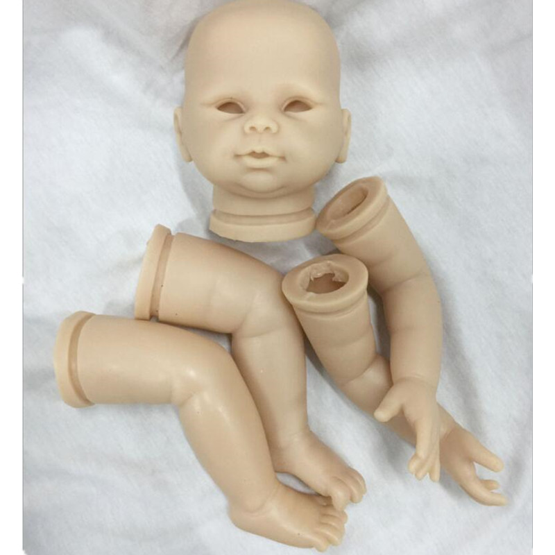 Reborn Doll Kits for 20inches Soft Vinyl Reborn Baby Dolls Accessories for DIY Realistic Toys for DIY Reborn Dolls Kits dk-86 good price reborn baby doll kits for 17 baby doll made by soft vinyl real touch 3 4 limbs unpainted blank doll diy reborn doll