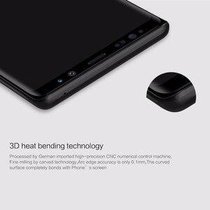 Image 2 - Protector de pantalla de vidrio templado para Samsung Galaxy Note 9 NILLKIN Amazing 3D CP + MAX, vidrio Protector de cobertura completa antiexplosión