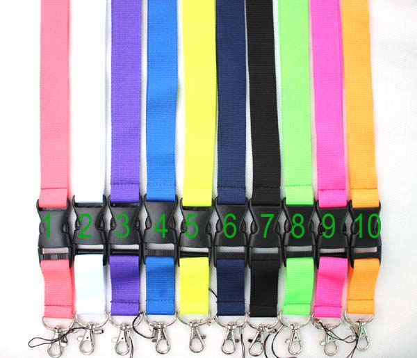 Free payment for mixed neck lanyards