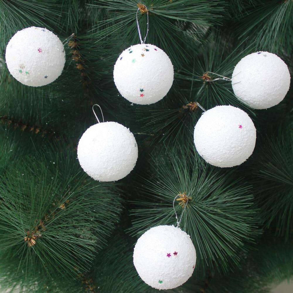 Foam ball craft - Diy Christmas Party Decoration Supplies Gifts 40mm Modelling Polystyrene Styrofoam Foam Ball White Craft Solid Balls