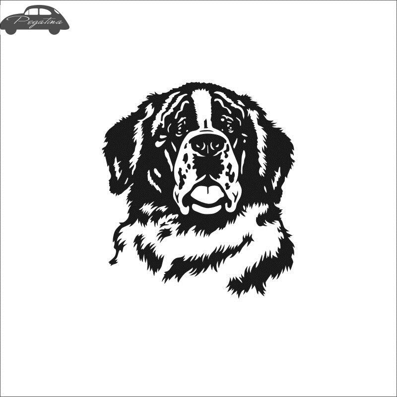 Pegatina Car Bernese Dog Sticker Pet Shop Decal Posters Vinyl Wall Art Decals Quadro Parede Decor Mural Pet Shop Sticker